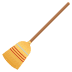 🧹 Broom Emoji on JoyPixels Platform
