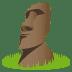 🗿 Moai Emoji on JoyPixels Platform