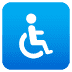 ♿ wheelchair symbol Emoji on Joypixels Platform