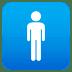 🚹 men's room Emoji on Joypixels Platform