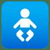 🚼 baby symbol Emoji on Joypixels Platform