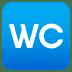 🚾 water closet Emoji on Joypixels Platform