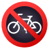 🚳 no bicycles Emoji on Joypixels Platform