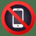 📵 no mobile phones Emoji on Joypixels Platform