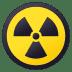 ☢️ radioactive Emoji on Joypixels Platform