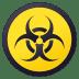 ☣️ biohazard Emoji on Joypixels Platform
