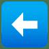 ⬅️ left arrow Emoji on Joypixels Platform