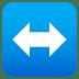 ↔️ left-right arrow Emoji on Joypixels Platform