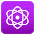 ⚛️ atom symbol Emoji on Joypixels Platform