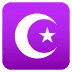 ☪️ star and crescent Emoji on Joypixels Platform