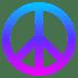 ☮️ peace symbol Emoji on Joypixels Platform