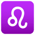 ♌ Leo Emoji on Joypixels Platform