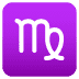 ♍ Virgo Emoji on Joypixels Platform