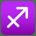 ♐ Sagittarius Emoji on Joypixels Platform