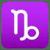 ♑ Capricorn Emoji on Joypixels Platform
