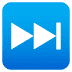 ⏭️ next track button Emoji on Joypixels Platform