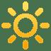 🔆 bright button Emoji on Joypixels Platform