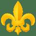 ⚜️ fleur-de-lis Emoji on Joypixels Platform
