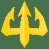🔱 trident emblem Emoji on Joypixels Platform