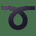➰ curly loop Emoji on Joypixels Platform
