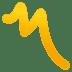 〽️ Part Alternation Mark Emoji on JoyPixels Platform