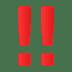 ‼️ double exclamation mark Emoji on Joypixels Platform