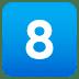 8️⃣ keycap: 8 Emoji on Joypixels Platform