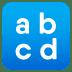 🔡 input latin lowercase Emoji on Joypixels Platform