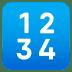 🔢 input numbers Emoji on Joypixels Platform