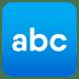 🔤 input latin letters Emoji on Joypixels Platform