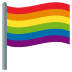 🏳️🌈 Rainbow Flag Emoji on JoyPixels Platform