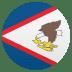 🇦🇸 flag: American Samoa Emoji on Joypixels Platform