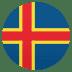 🇦🇽 flag: Åland Islands Emoji on Joypixels Platform