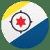 🇧🇶 flag: Caribbean Netherlands Emoji on Joypixels Platform