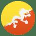 🇧🇹 flag: Bhutan Emoji on Joypixels Platform