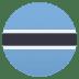 🇧🇼 flag: Botswana Emoji on Joypixels Platform