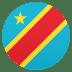 🇨🇩 flag: Congo – Kinshasa Emoji on Joypixels Platform