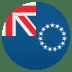 🇨🇰 flag: Cook Islands Emoji on Joypixels Platform