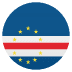 🇨🇻 flag: Cape Verde Emoji on Joypixels Platform