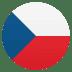 🇨🇿 flag: Czechia Emoji on Joypixels Platform