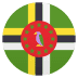 🇩🇲 flag: Dominica Emoji on Joypixels Platform