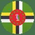 🇩🇲 Dominica Flag Emoji on JoyPixels Platform