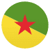 🇬🇫 French Guiana Flag Emoji on JoyPixels Platform