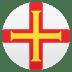 🇬🇬 flag: Guernsey Emoji on Joypixels Platform