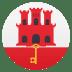 🇬🇮 flag: Gibraltar Emoji on Joypixels Platform