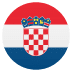 🇭🇷 flag: Croatia Emoji on Joypixels Platform