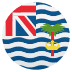🇮🇴 flag: British Indian Ocean Territory Emoji on Joypixels Platform