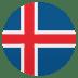 🇮🇸 flag: Iceland Emoji on Joypixels Platform