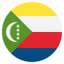 🇰🇲 flag: Comoros Emoji on Joypixels Platform