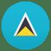 🇱🇨 flag: St. Lucia Emoji on Joypixels Platform